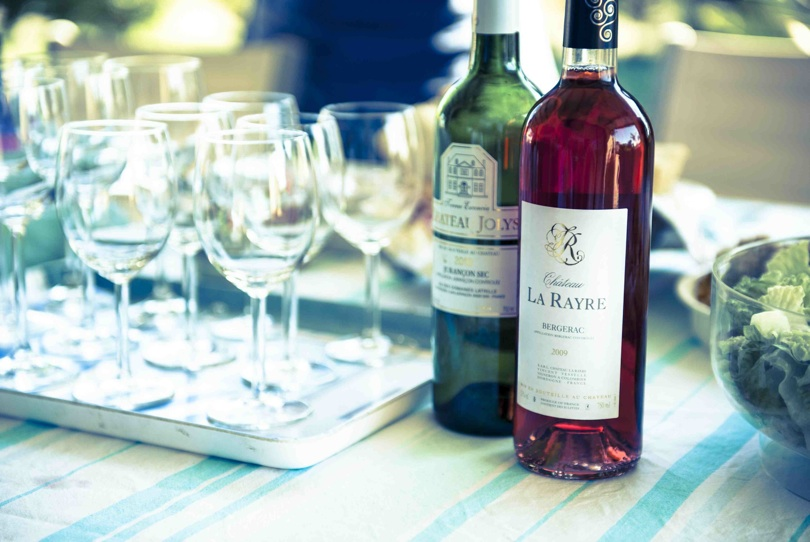chateau la rayre rose and chateau jolys jurancon sec